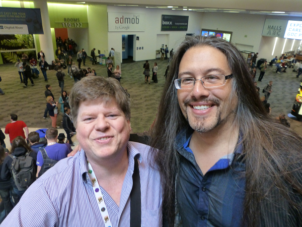John Romero! …And some other guy!