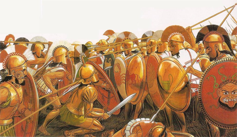 Battle in the Phalanx