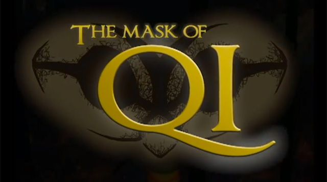 Poster for Game Design Students' game The Mask of Qi