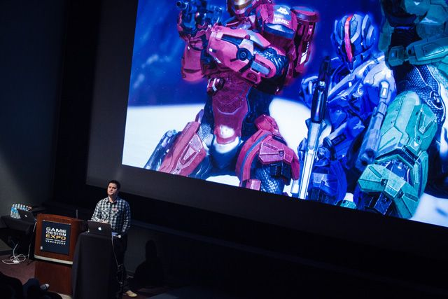 Chris Haluke Lead Designer for Halo 4