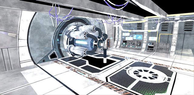 Meshes Placed in UDK
