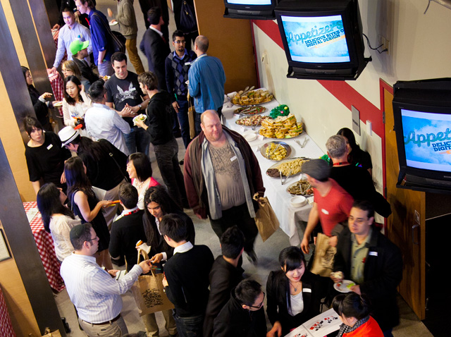 Appetizers Event Hallway Shot