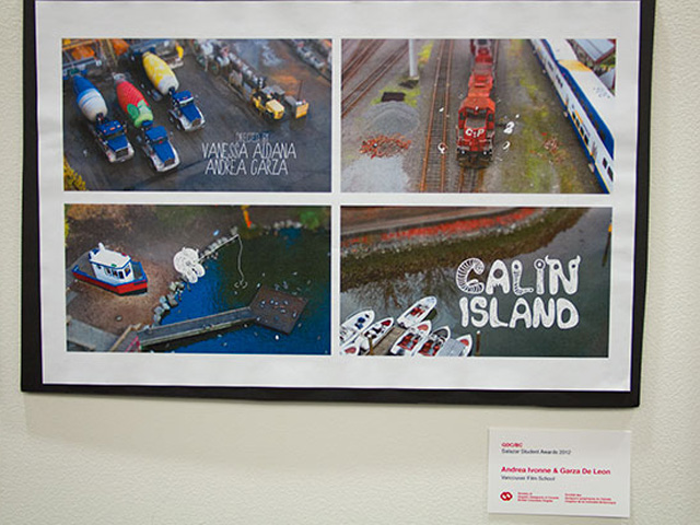 Calin Island Poster and Award Notice