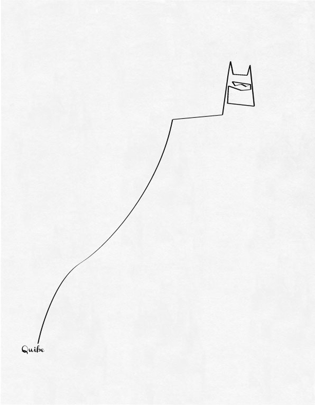 Single Line Artwork : One line art by quibe oomph