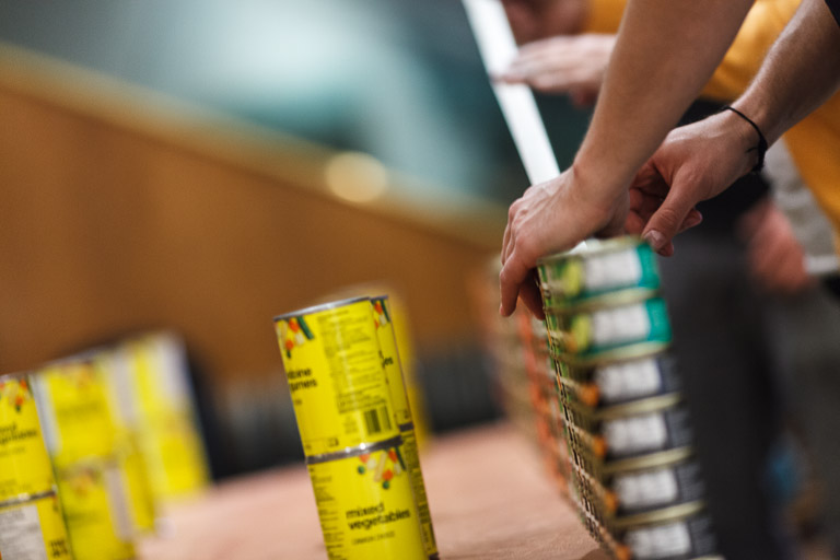 2013 Canstruction Competition — Photo by Danny Chan