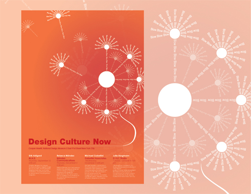 Design Culture Poster by Niketan Dewoolkar