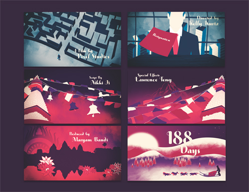 188 Days Title Sequence by Kelly Kurtz