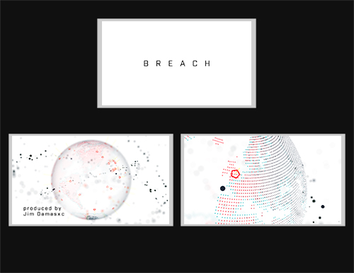 Breach Title Sequence by Frank Seager