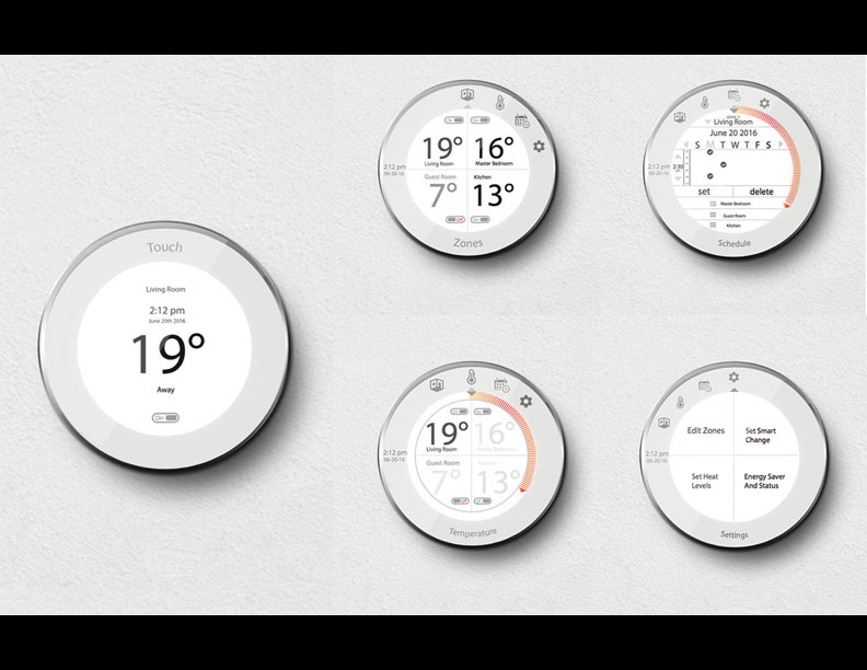 Thermostat Design by Denita Gladeau