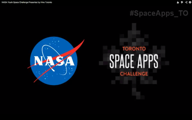 The NASA International Space Apps...