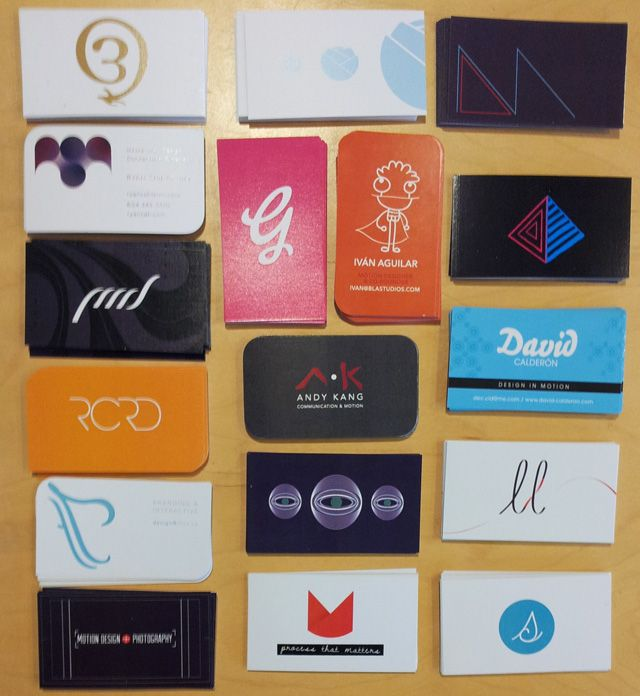 Digital Design Business Cards 23rd Class