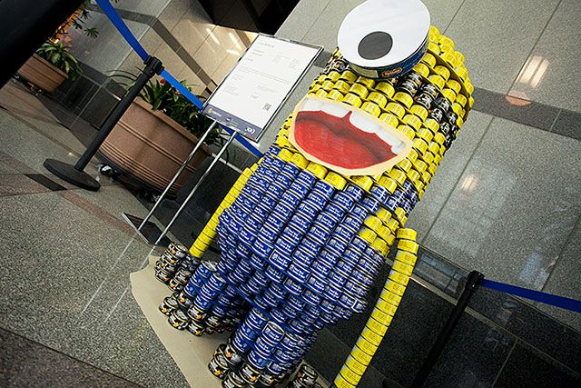 Canstruction: Can Minion