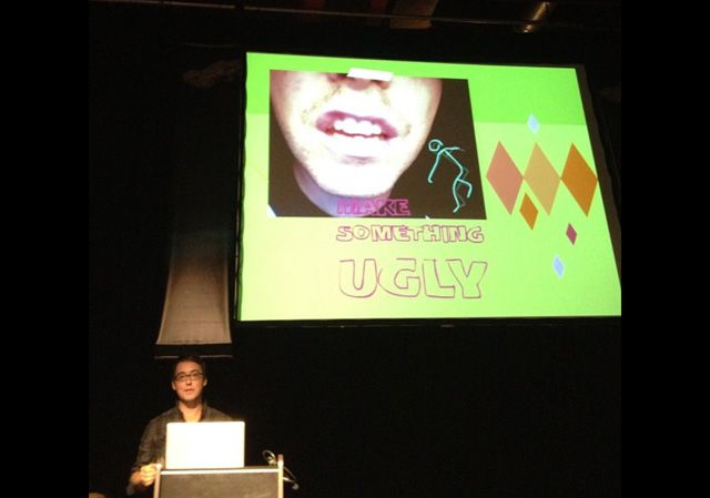 Myron Campbell: Make Something Ugly at FITC
