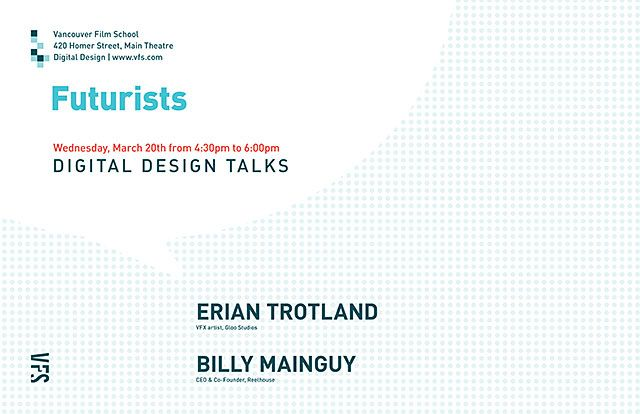 Digital Design Talks : Futurists Poster