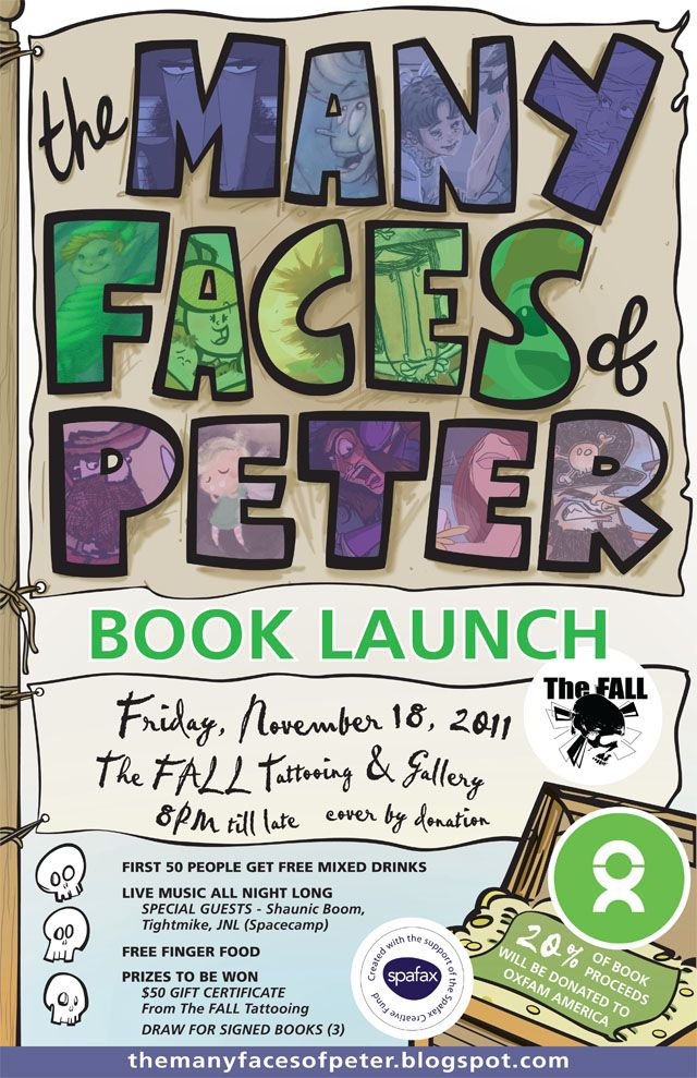 The Many Faces Of Peter - Book Launch