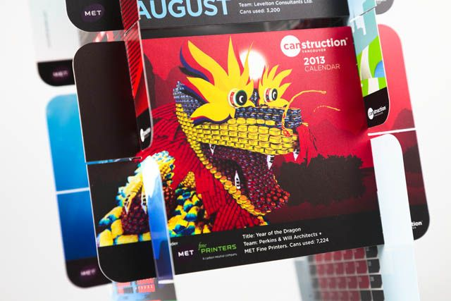 Shot of August from CANstruction Calendar - Danny Chan photos