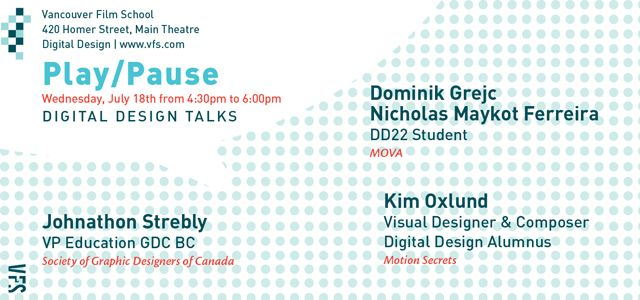 Banner for Digital Design Talks