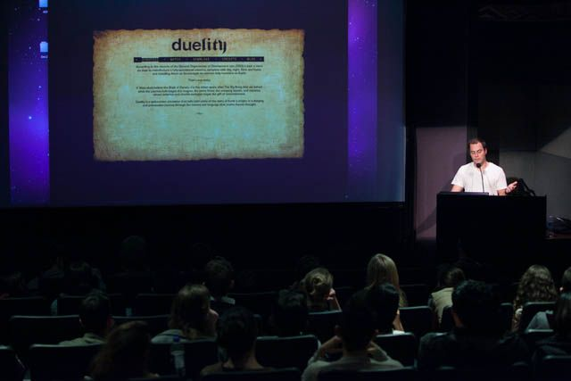 Boca talks about his final project Duelity