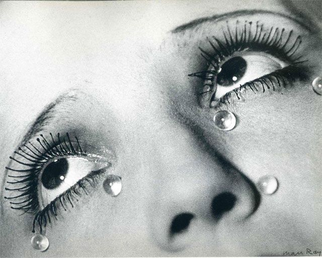 Les Larmes Photo by Man Ray