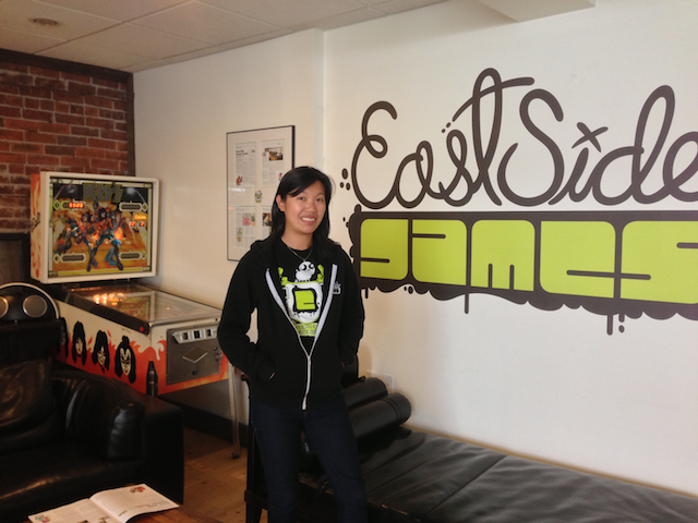 Kay Chan from East Side Games
