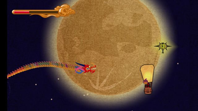 Screenshot from Year of the Dragon Flash Game