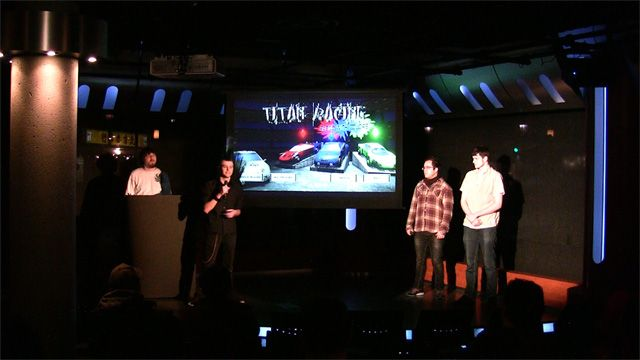 Team Titan Racing present their game at Pitch and Play