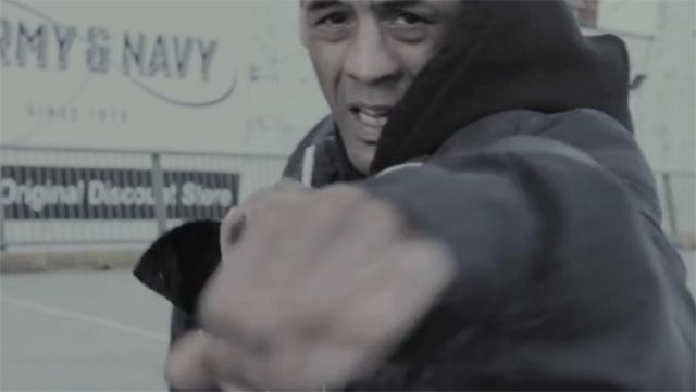 Still from boxing documentary