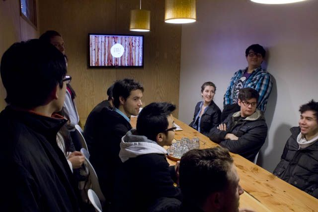 Students get great advice from Giant Ant creatives